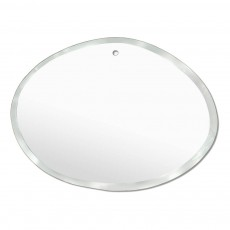 product-M Nuance Extra Thin Bevelled Mirror - Random Horizontal Oval Form 55x40 cm