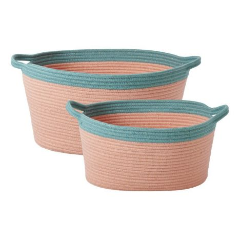 Exceptionnel Oval Storage Baskets   Set Of 2 Product