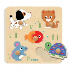 product-Djeco Bulle & Co Large Button Puzzle