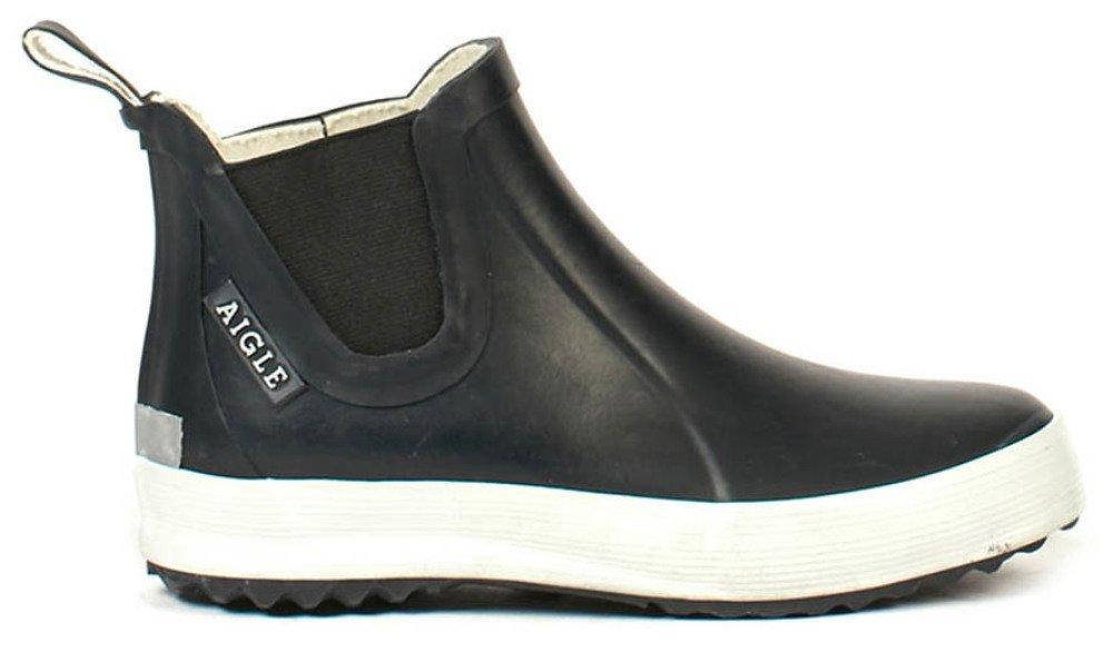 f92b3782b3f Lolly Chelsea Ankle Rain Boots Navy blue Aigle Shoes Children. «
