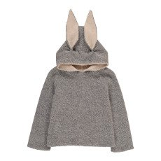 product-Oeuf NYC Rabbit Alpaca Wool Baby Burnous