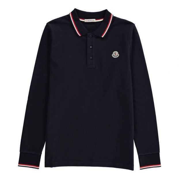 Moncler Langarm Polo Shirt : Winterjacken und Moncler Sale