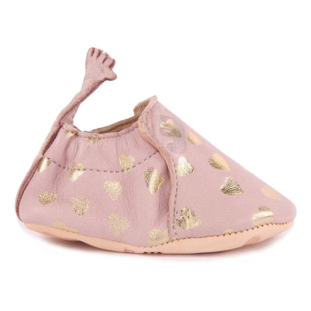 Weltweit Versandkostenfrei Bestpreis großes Sortiment Babyschuhe aus Leder Blumoo Lovely Rosa