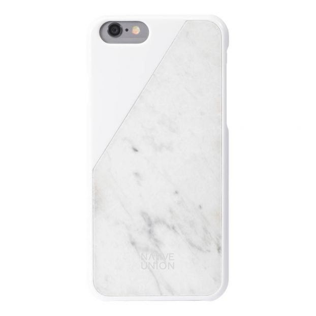 huge discount 57008 b183f iPhone 6 Marble Click Case Marble White