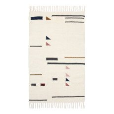 product-Ferm Living Kelim Triangle Rug