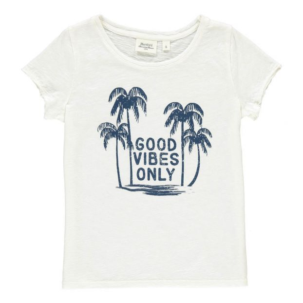349e136d ... Good Vibes Only T Shirt White Hartford Fashion Teen Children Good Vibes  Only T Shirt product Source · The Mountain Women s Triblend V Neck ...