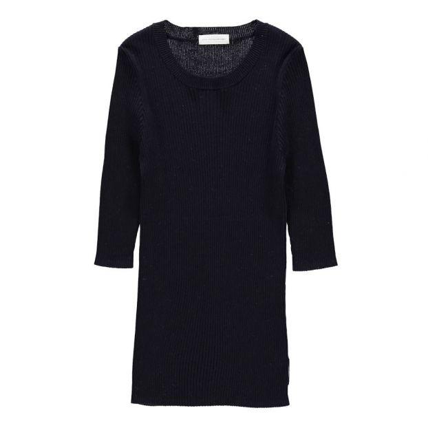 Pullover aus Baumwolle und Seide Léa Navy