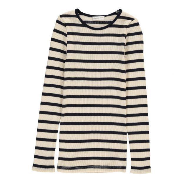 661e7601 Striped Romie T-Shirt Ecru Les Coyotes de Paris Fashion Teen ,