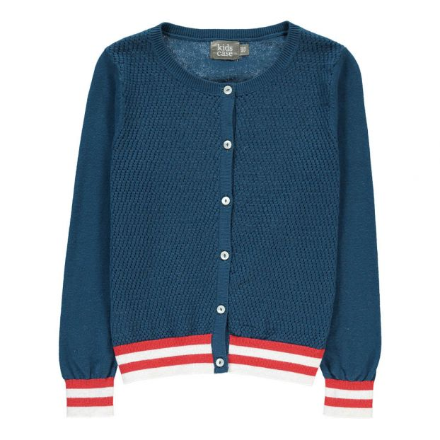 28b876ed3c82 Jude Cardigan Navy blue Kidscase Fashion Baby