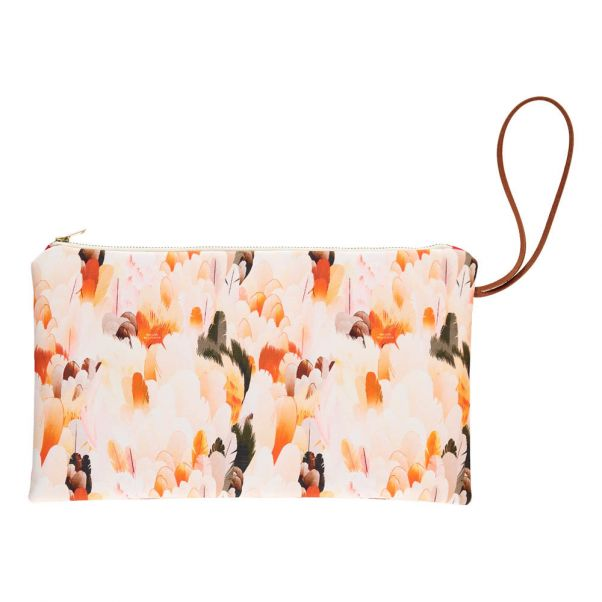 de Gusset Producto Wild plana Zip Up Feather bolsa FXFr8