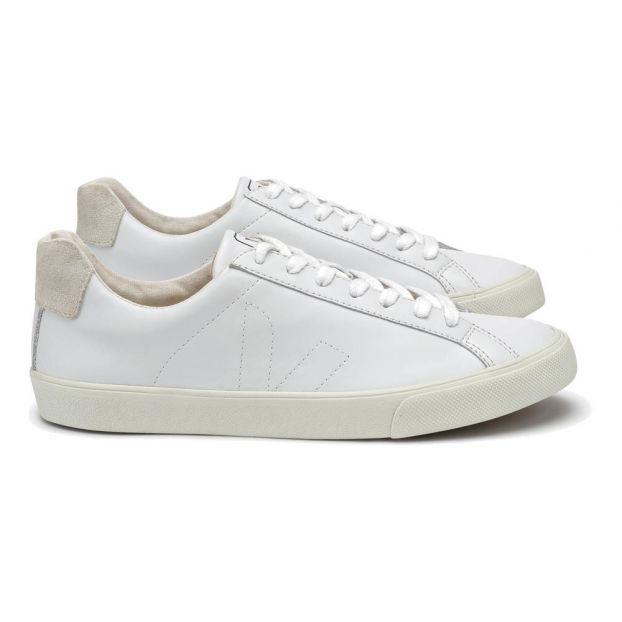 Sneakers Lacci Pelle Bianco Veja Scarpe Adulto de834367b42