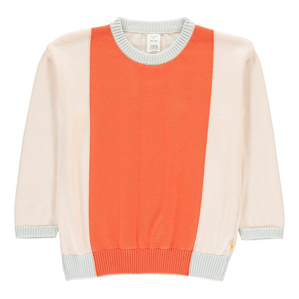 Tinycottons - Pull Color Block - Fille - Rouge