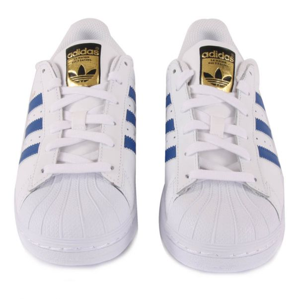 outlet store 779e4 32da6 ... adidas superstar laces Superstar Lace-Up Leather Trainers-product ...