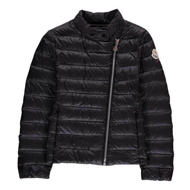 add7664e7 Slant Closure Jacket Black