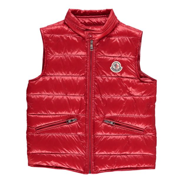 designer fashion e4c20 610a2 Kurzarm Daunenjacke Gui Rot