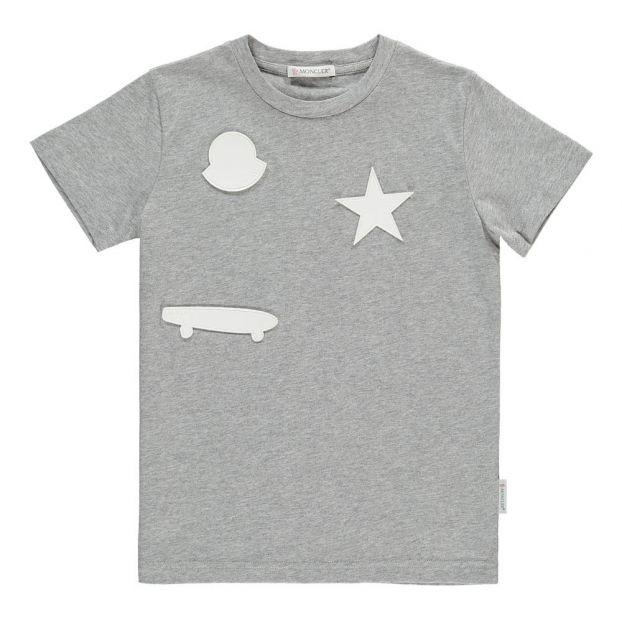 Camiseta marinera con parches