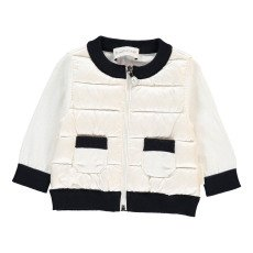 product-Moncler Knitted Sleeve Jacket