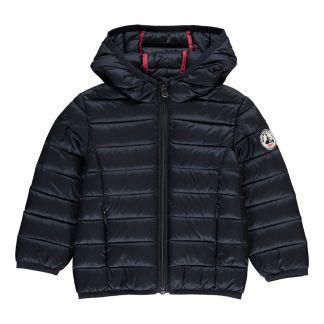 b0d49eda8af0 Camille Hooded Down Jacket Royal blue Jott Fashion Baby