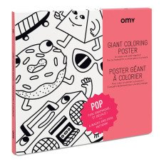 product-Omy Poster géant à colorier Pop