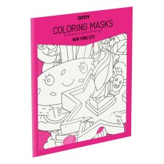 product-Omy New York City Colouring Mask - Set of 8