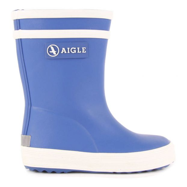 91e59d41f4f Baby Flac Rainboots Royal blue Aigle Shoes Baby