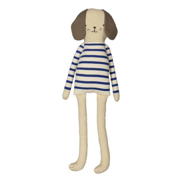 4be245f03447f Doudou chien Bleu Meri Meri Jouet et Loisir Enfant