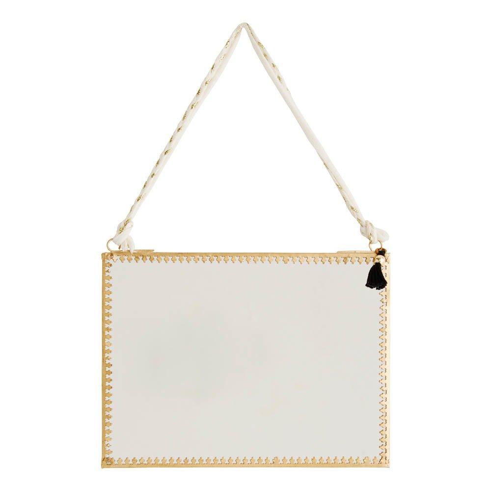 Miroir suspendu 20x15 cm