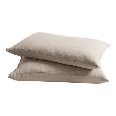 product-Maison de vacances Washed Linen Pillow Case