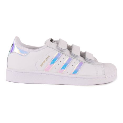 Iridescent Superstar Velcro Trainers-product
