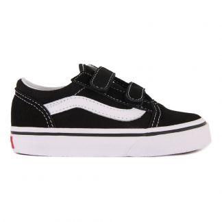 2ecc04a4b4be8f Old School Glitter Laced Trainers Black Vans Shoes Teen