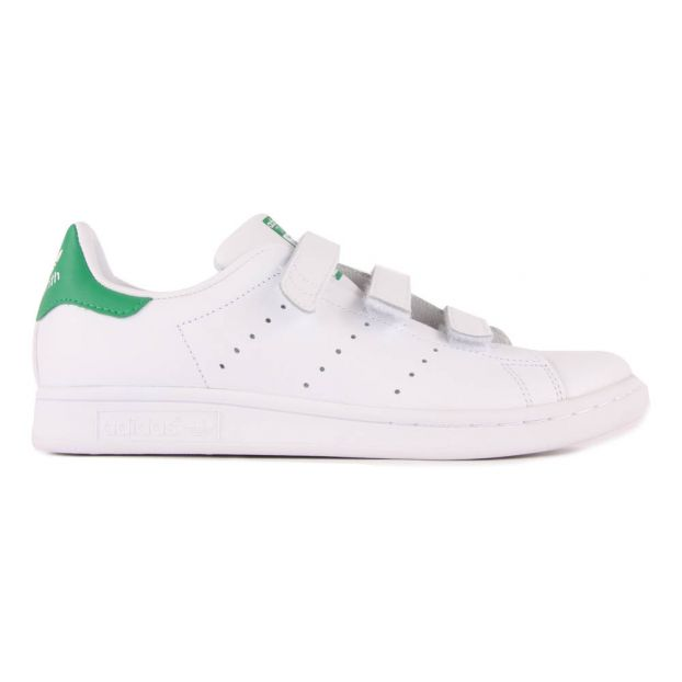 07b924ca303c Stan Smith Velcro Trainers Adidas Shoes Teen