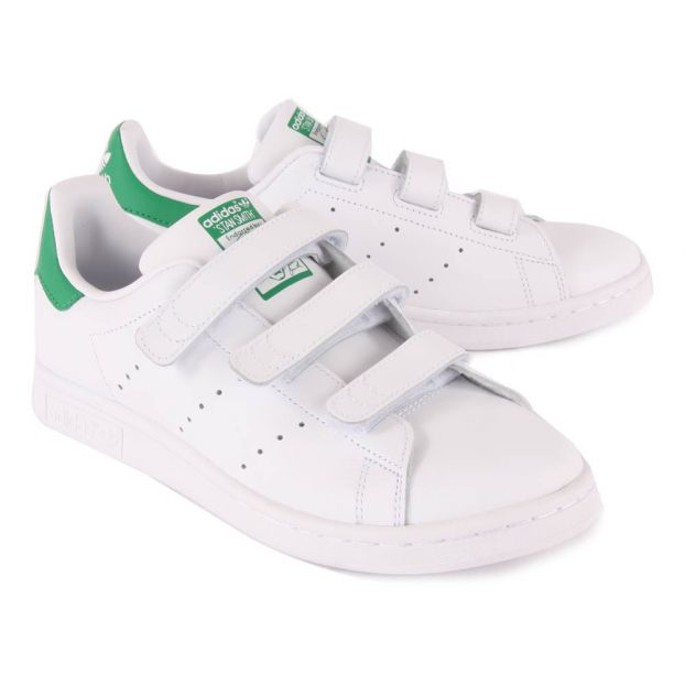 c29073589685 Stan Smith Velcro Trainers Adidas Shoes Teen