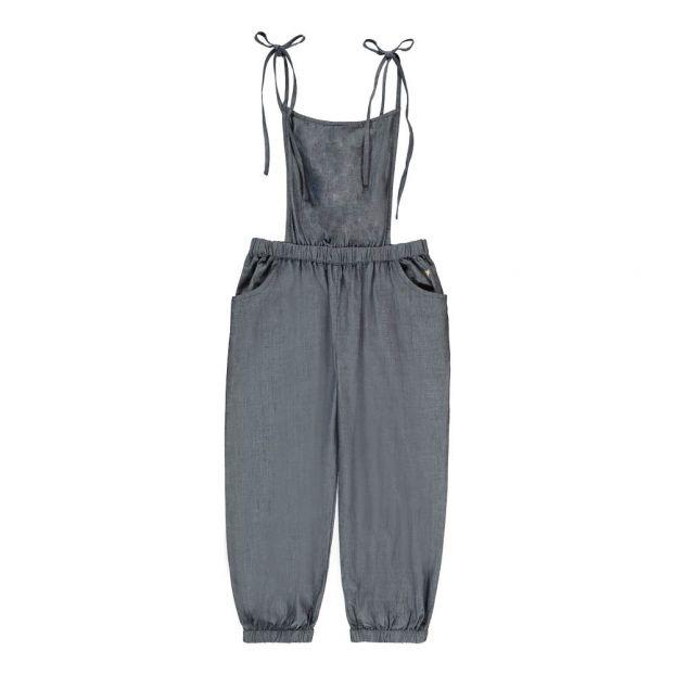 36d99a092 Karen Organic Cotton Jumpsuit Denim blue Lulaland Fashion