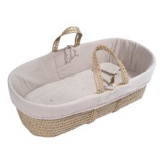 product-Numero 74 Bassinet, Mattress and Linen - Powder