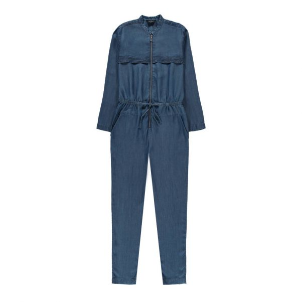 4551de7a7 lower price with f9ad3 9c331 baby girl denim romper jumpsuit playpen ...