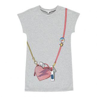ae50a80f1c8ed5 Little Marc Jacobs Trompe L'œil Fleece Dress-listing