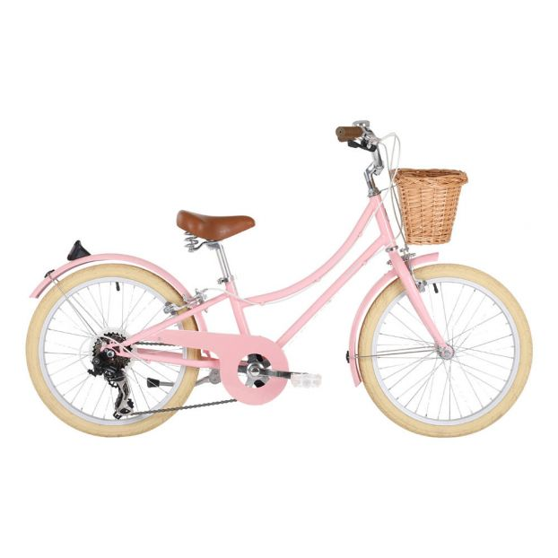 Gingersnap 20 Children S Bicycle Pale Pink Bobbin Toys And