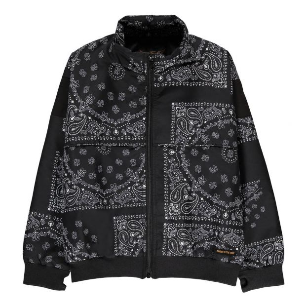 Countdown Bandana Print Jacket Black by Smallable
