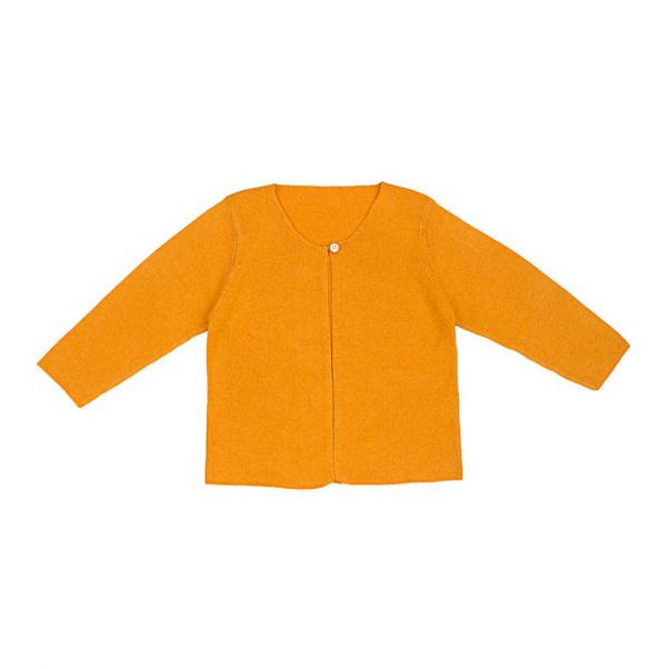 a1831570c Silk and Cotton Cardigan Saffron Ketiketa Fashion Baby