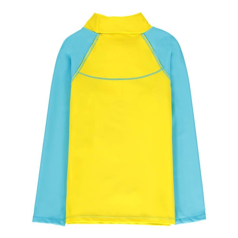 Little Marc Jacobs - T-shirt Anti UV Bicolore Mr Marc Rollers - Garçon - Jaune