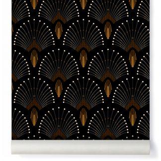 papier peint 1925 traditional beige papermint design adulte. Black Bedroom Furniture Sets. Home Design Ideas