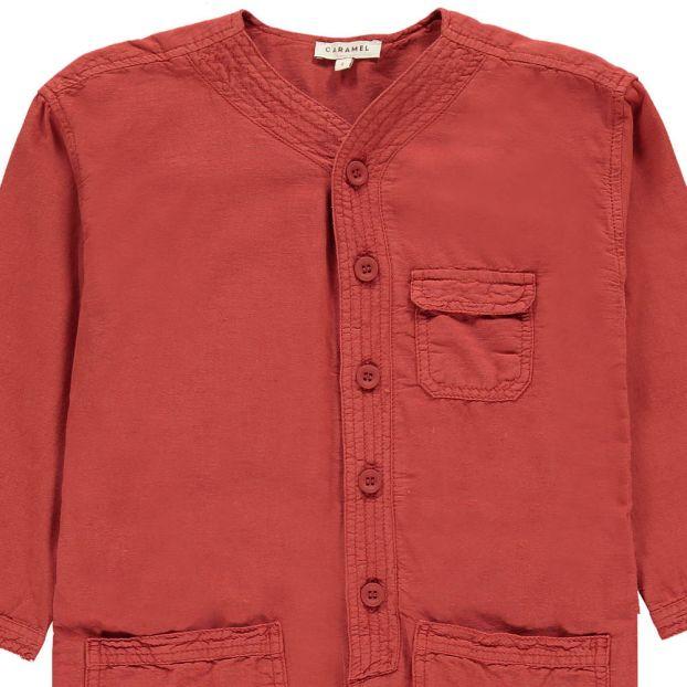 75dcb2129 Soko Cotton Linen Jumpsuit Rust Caramel Fashion Children