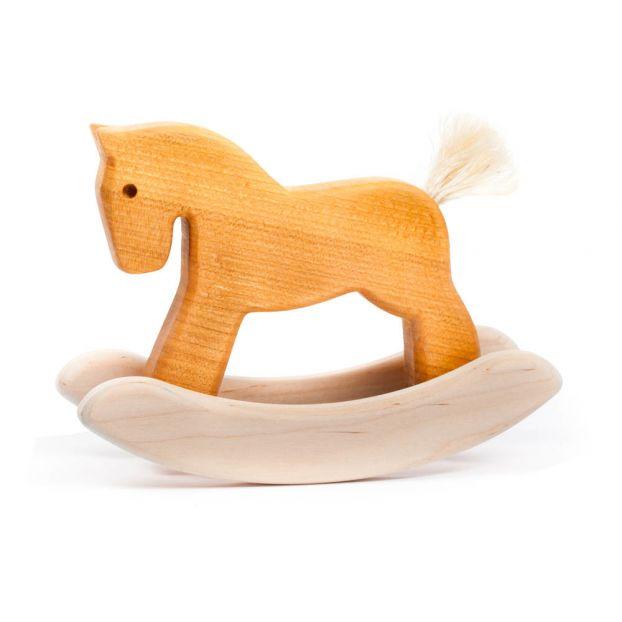 Petit cheval à bascule en bois Bajo Jouet