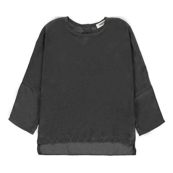 Batwing Blouse Charcoal Grey Tambere Fashion Children