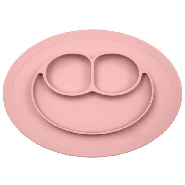 Tisch Und Teller : tisch set und rutschfester teller mattrosa ezpz design baby ~ Watch28wear.com Haus und Dekorationen