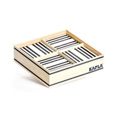 product-Kapla Black and White Set - 100 planks