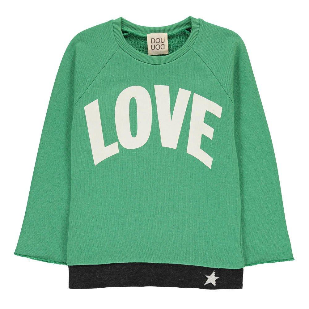 Sweatshirt Loose Love Stunt Man Hit Blogpost 8486