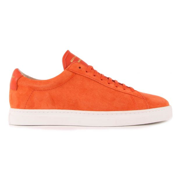 new product ea357 821ee Turnschuhe aus Wildleder ZSP4 Orange