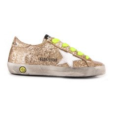 product-Golden Goose Deluxe Brand Baskets Basses Lacets Paillettes Superstar