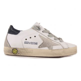 Golden Goose Deluxe Brand Sneakers Lacci Pelle dietro-listing c64a9097c2b